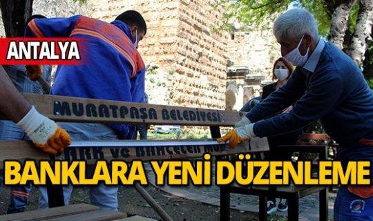Antalya'da banklara korona virüs düzenlemesi