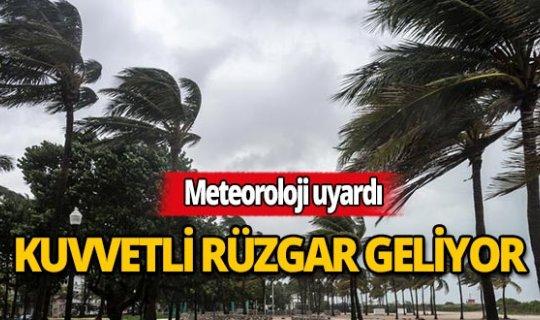 Antalyalılar dikkat: Kuvvetli rüzgar geliyor