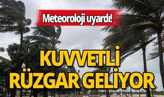 Antalyalılar dikkat: Kuvvetli rüzgar geliyor!