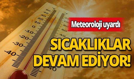 Antalyalılar dikkat: Meteoroloji yüksek sıcaklık için uyarıda bulundu!