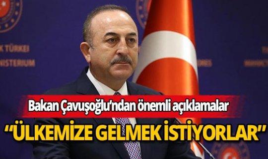 """Bakan Mevlüt Çavuşoğlu'ndan Turizm açıklaması: """"Ülkemize gelmek istiyorlar"""""""