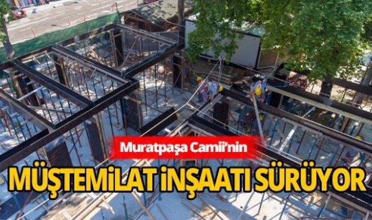 Başkan Uysal: Muratpaşa Camii en güzel haliyle ibadete açılacak
