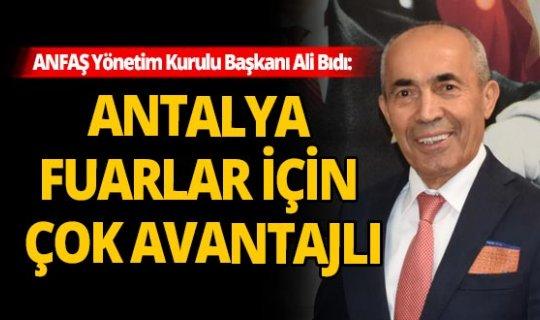 Büyük fuar şirketlerine, 'Fuarlarınızı Antalya'ya taşıyın' daveti
