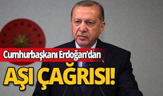 """Cumhurbaşkanı Erdoğan: """"Kovid-19 aşısı tüm insanlığın ortak malı olmalıdır"""""""