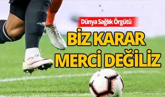 DSÖ, futbol liglerinin başlaması kararını değerlendirdi