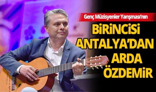 Genç Müzisyenler Yarışması'nın birincisi Antalya'dan