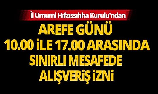 Antalya İl Umumi Hıfzıssıhha Kurulu'ndan bayram kısıtlamasıyla ilgili açıklama