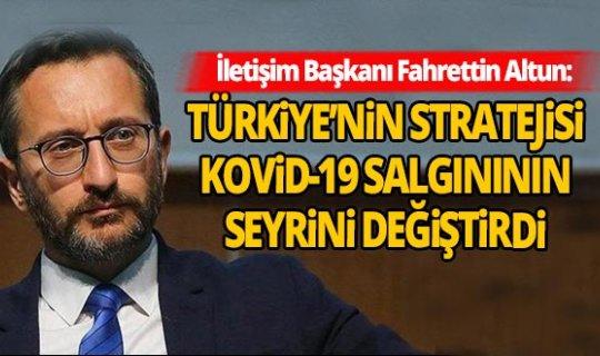 İletişim Başkanı Fahrettin Altun: Türkiye'nin Koronavirüs'teki başarısını ABD'ye anlattı!
