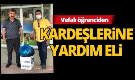 Avusturya'dan Antalya'ya uzanan yardım eli