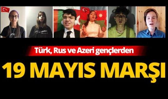 Manavgat Belediyesi Gençlik Korosu'ndan 19 Mayıs Marşı