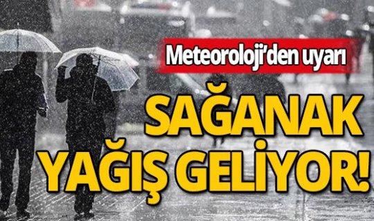 Meteoroloji'den Antalya için kuvvetli yağış uyarısı!
