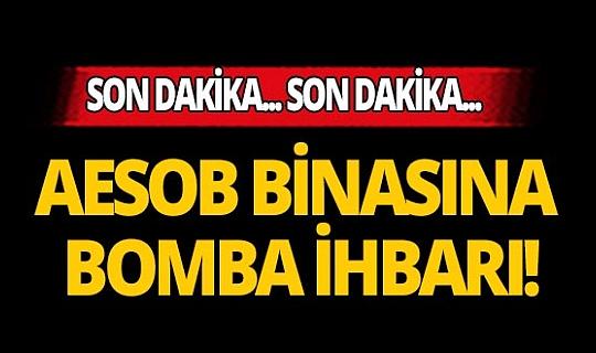Antalya Esnaf Odaları Birliğinde bomba paniği