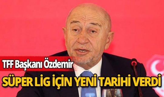 """TFF Başkanı Nihat Özdemir: """"Pozitif vakaları ayırıp yolumuza devam edeceğiz"""""""