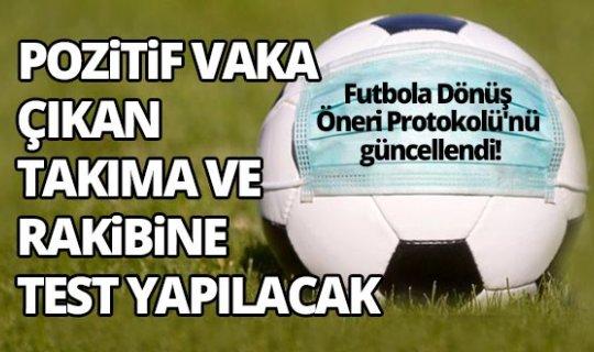TFF Sağlık Kurulu, Futbola Dönüş Öneri Protokolü'nü güncelledi!