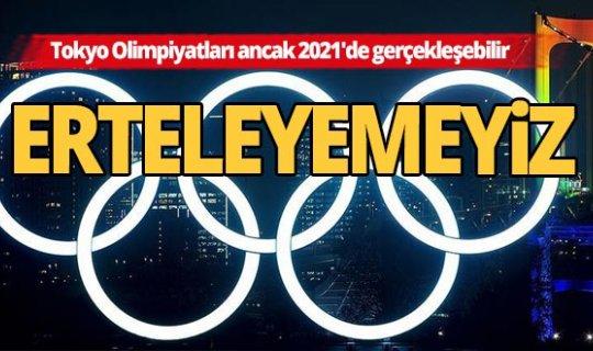 Tokyo Olimpiyatları ancak 2021'de gerçekleşecek