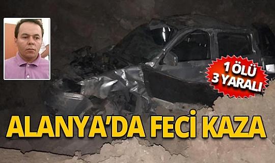 Alanya'da trafik kazası
