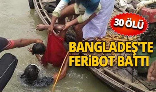 Bangladeş'te facia!