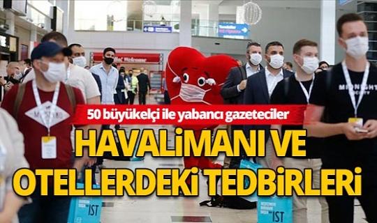 """Büyükelçiler ve yabancı gazeteciler """"güvenli turizm"""" için Antalya'da buluştu"""
