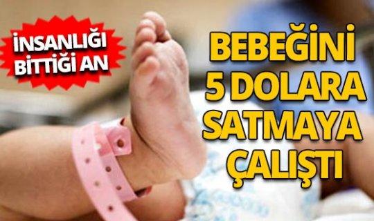 Gürcistan'da bebeğini satmaya çalışan çift gözaltına alındı