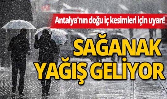 14 Temmuz 2020 Salı günü Antalya'da hava nasıl olacak?