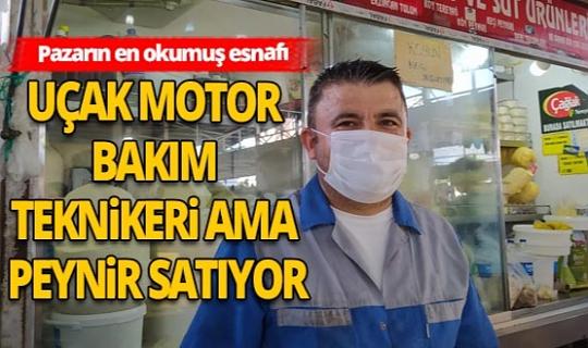 Antalya Haber: Pazarın en okumuş esnafı