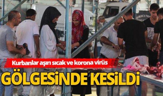 Antalya Haber: Sıcak hava kurban kesimi yapan kasap ve vatandaşlara zor anlar yaşattı