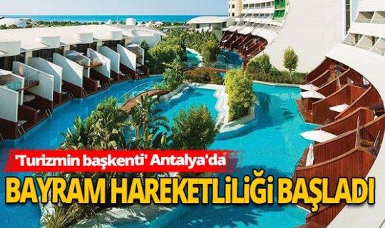 Antalya Haber: Tesislerde bayram bereketi