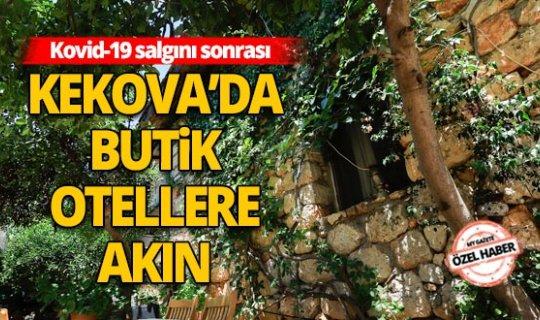 Antalya Haberi: Kekova'da butik otellere akın