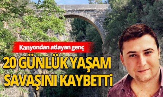 Antalya Serik Haberi: Köprüden atlayan genç hayatını kaybetti