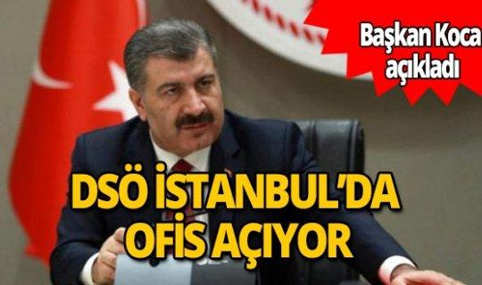 Bakan Koca müjdeyi verdi! İstanbul'da Dünya Sağlık Örgütü ofisi açılacak