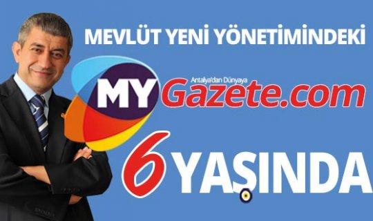 Deneyimli Gazeteci Mevlüt Yeni yönetimindeki MYGazete.com 6 yaşında!
