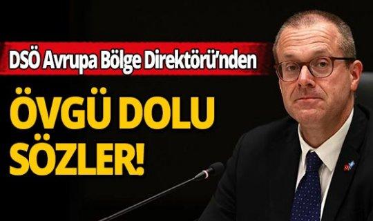 DSÖ Avrupa Bölge Direktörü Kluge'den Türkiye'nin koronavirüs mücadelesine övgü dolu sözler