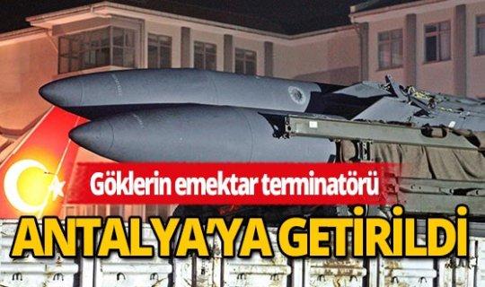 Göklerin emektar terminatörü, bu sefer savaş için değil eğitim için Antalya'da