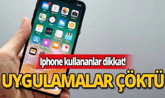 iPhone ve iPad'lerde uygulamalar çöktü