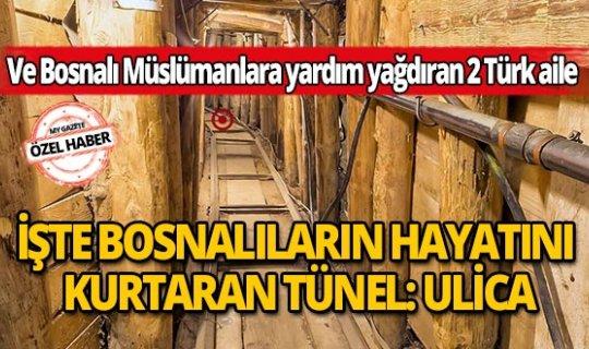 Son dakika özel haber:  İşte 300 bin Bosnalının hayatını  kurtaran tünel: Ulica