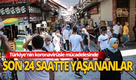 Türkiye'de koronavirüste son 24 saatte yaşananlar!