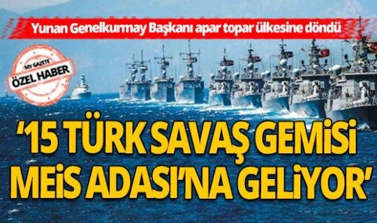 Antalya'nın dibindeki Meis Adası iddiası Yunan Ordusunu alarma geçirdi