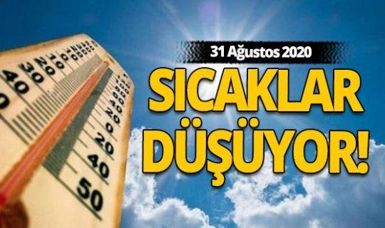 31 Ağustos Antalya'da hava durumu