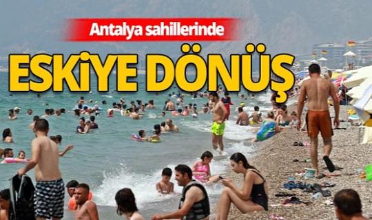 Antalya Haber: Dünyaca ünlü Konyaatlı Sahili'nde yoğunluğuyla eski günleri aratmadı
