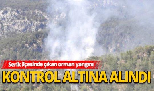 Antalya haber: Korkutan orman yangını