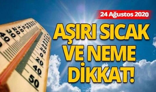 Hava durumu: 24 Ağustos'ta Antalya'da hava durumu