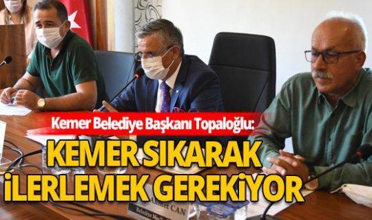 Necati Topaloğlu'ndan Beldibi'ndeki imar açıklaması