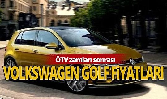 2020 Volkswagen Golf fiyat listesi!