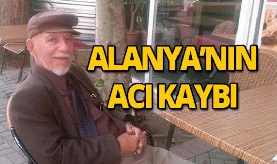 Alanya'yı yasa boğan ölüm