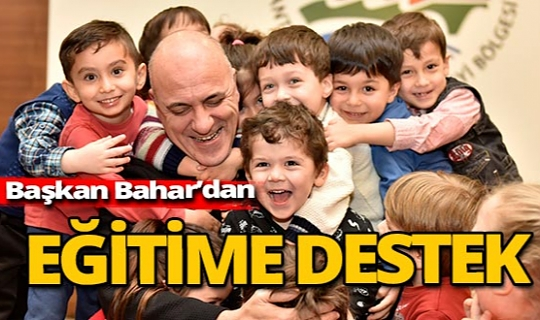 Antalya haber: AOSB Başkanı Bahar'dan eğitim sektörüne destek mesajı