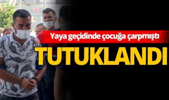 Antalya haber: 9 yaşındaki çocuğun öldüğü kazanın sürücüsü tutuklandı