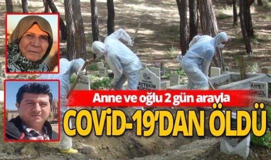 Antalya haber: Anne ve oğlu 2 gün arayla hayatını kaybetti