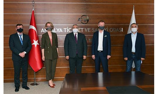 Antalya haber: ATSO Başkanı Çetin'den Finli yatırımcılara davet
