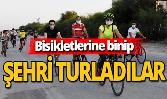 Antalya haber: Bisikletle şehri turladılar