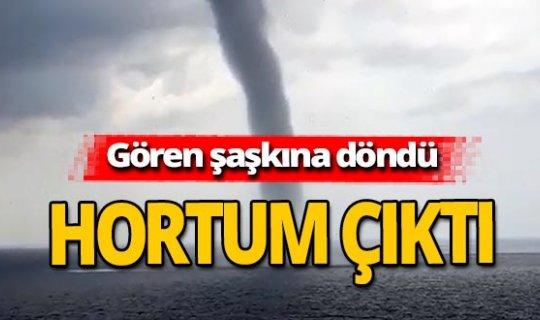 Antalya haber: Hortum çıktı